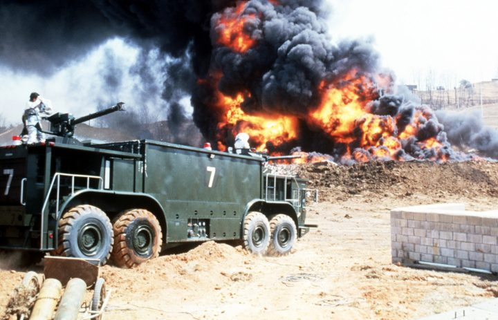 Reasons for FireGel's Superiority over Fire Foam on Military